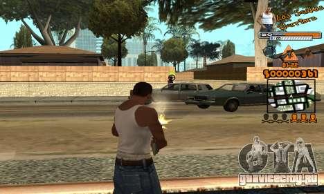 C-HUD LSW для GTA San Andreas четвёртый скриншот