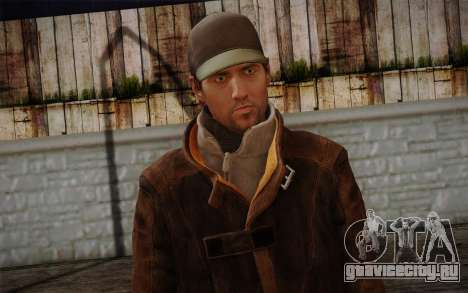Aiden Pearce from Watch Dogs v11 для GTA San Andreas третий скриншот