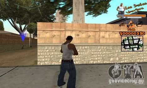 C-HUD LSW для GTA San Andreas третий скриншот