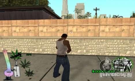 C-HUD Canabis для GTA San Andreas третий скриншот