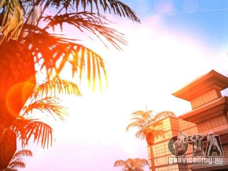 Sunset ENB для GTA San Andreas второй скриншот