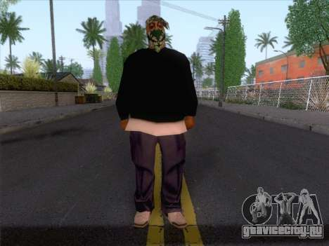 New Ballas Skin 1 для GTA San Andreas