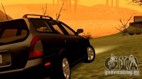 Daewoo Nubira I универсал CDX США, 1999 г. для GTA San Andreas колёса