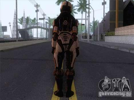 Cerberus Female Armor from Mass Effect 3 для GTA San Andreas второй скриншот