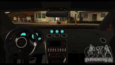 Lamborghini Gallardo LP 570-4 для GTA San Andreas вид сзади