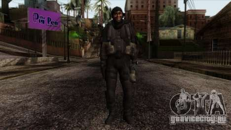Modern Warfare 2 Skin 18 для GTA San Andreas