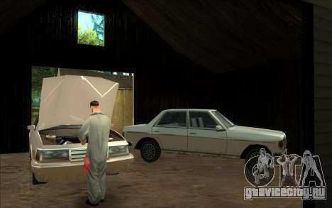 Дорожная автомастерская Сиджея для GTA San Andreas третий скриншот