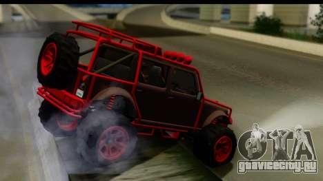 GTA 5 Mesa MerryWeather для GTA San Andreas вид слева