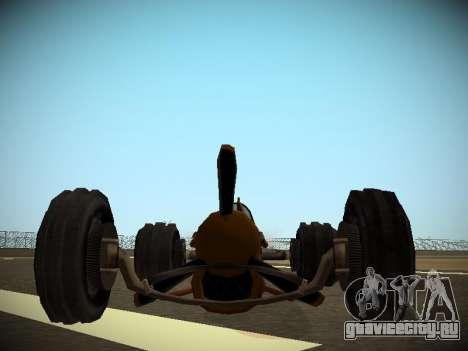 Rustler Стержень Бета для GTA San Andreas вид справа