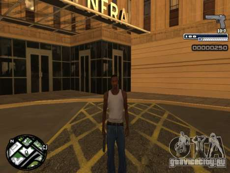 CLEO HUD Spiceman для GTA San Andreas четвёртый скриншот