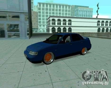 ВАЗ 2110 Такси для GTA San Andreas вид слева