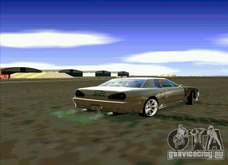 Elegy Restyle для GTA San Andreas вид слева
