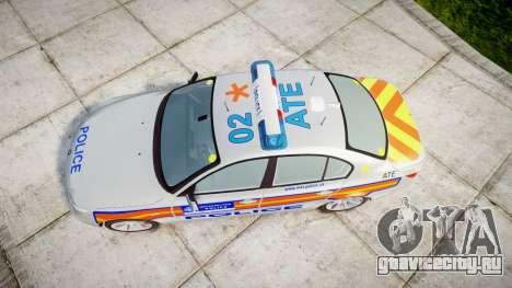 BMW 525d E60 2006 Police [ELS] для GTA 4 вид справа