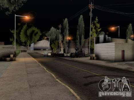 ENB Hans Realistic 1.0 для GTA San Andreas третий скриншот