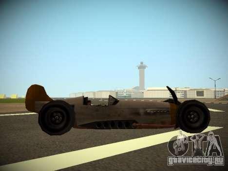 Rustler Стержень Бета для GTA San Andreas вид сзади слева