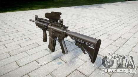 Автоматический карабин M4 Sirs Tactical для GTA 4 второй скриншот