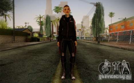 Jack Hood from Mass Effect 3 для GTA San Andreas