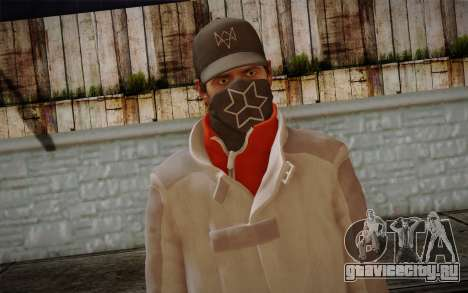 Aiden Pearce from Watch Dogs v1 для GTA San Andreas третий скриншот