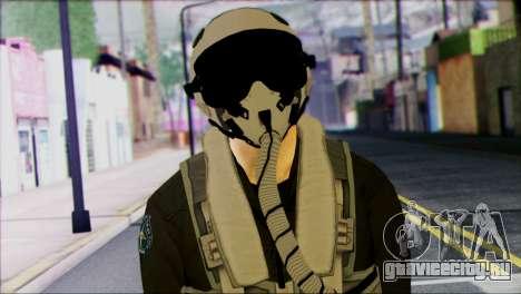 Russian Jet Pilot from Battlefield 4 для GTA San Andreas третий скриншот