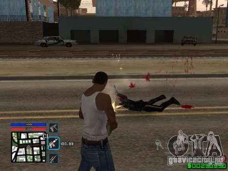 C-HUD by SampHack v.4 для GTA San Andreas второй скриншот