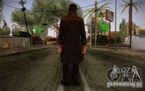 Aiden Pearce from Watch Dogs v4 для GTA San Andreas второй скриншот