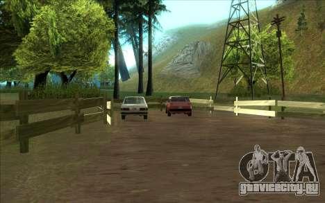 Дорожная автомастерская Сиджея для GTA San Andreas второй скриншот