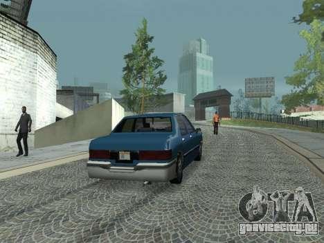 Beta Elegant для GTA San Andreas вид справа