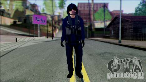 Chinese Pilot from Battlefiled 4 для GTA San Andreas
