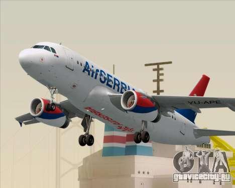 Airbus A319-100 Air Serbia для GTA San Andreas