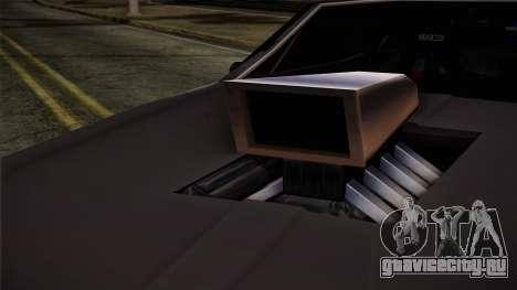 Clover Mejorado для GTA San Andreas вид сзади слева