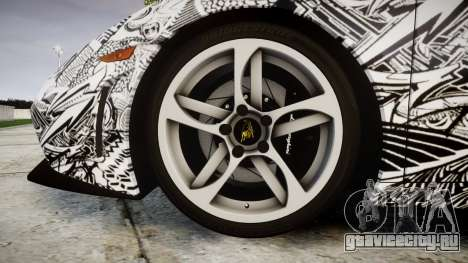 Lamborghini Gallardo LP570-4 Superleggera 2011 S для GTA 4 вид сзади
