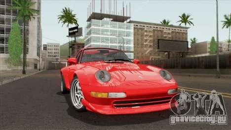 Porsche 911 GT2 (993) 1995 [HQLM] для GTA San Andreas вид сзади слева