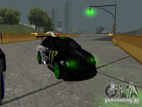 Mitsubishi Lancer Evo 9 Monster Energy для GTA San Andreas