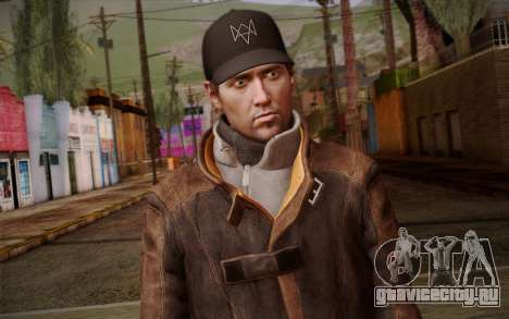 Aiden Pearce from Watch Dogs v10 для GTA San Andreas третий скриншот