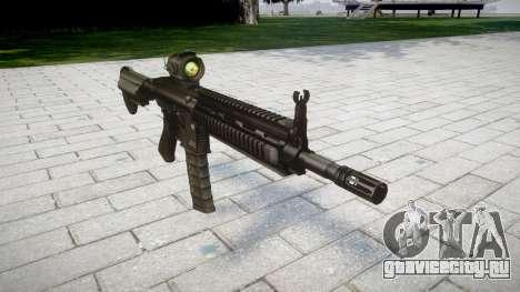 Автомат HK416 AR для GTA 4