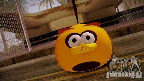 Orange Bird from Angry Birds для GTA San Andreas третий скриншот