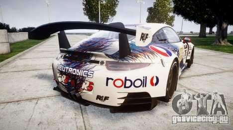 RUF RGT-8 GT3 [RIV] RobOil для GTA 4 вид сзади слева