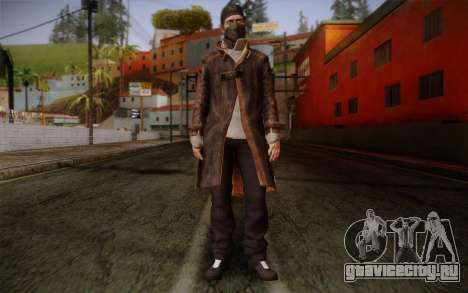 Aiden Pearce from Watch Dogs v4 для GTA San Andreas