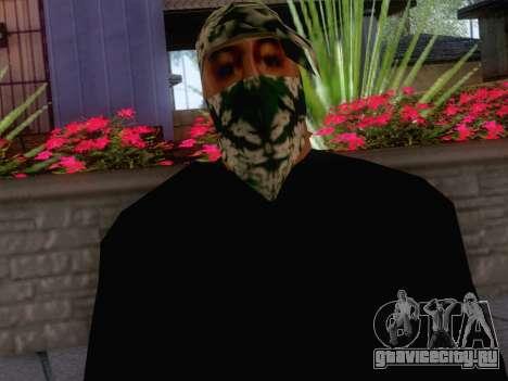 New Ballas Skin 1 для GTA San Andreas третий скриншот
