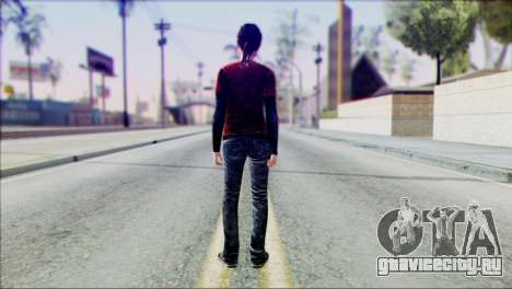 Ellie from The Last Of Us v1 для GTA San Andreas второй скриншот
