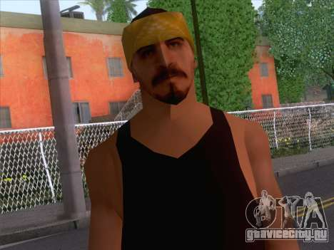 New Ballas Skin 2 для GTA San Andreas третий скриншот