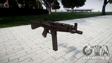 Пистолет-пулемет Taurus MT-40 для GTA 4