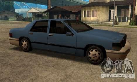 Beta Elegant Final для GTA San Andreas вид сзади слева