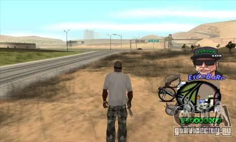 C-HUD by Travis Escobaro and Matthew Escobaro для GTA San Andreas