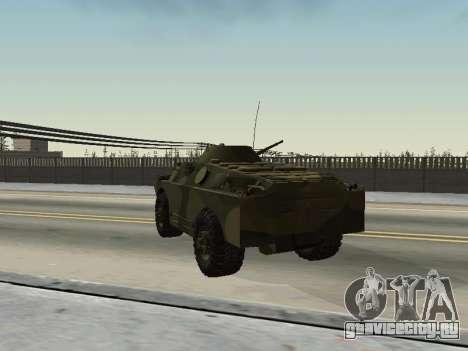 БРДМ 2 для GTA San Andreas вид сзади