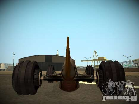 Rustler Стержень Бета для GTA San Andreas вид сзади