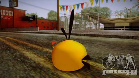 Orange Bird from Angry Birds для GTA San Andreas второй скриншот