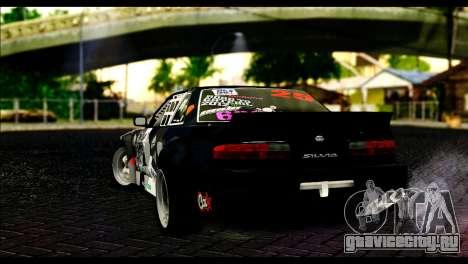 Nissan Silvia S13 Fail Crew v2 для GTA San Andreas вид слева