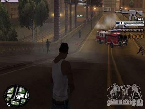 CLEO HUD Spiceman для GTA San Andreas пятый скриншот