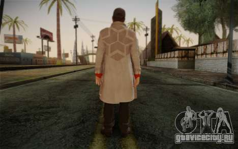 Aiden Pearce from Watch Dogs v1 для GTA San Andreas второй скриншот